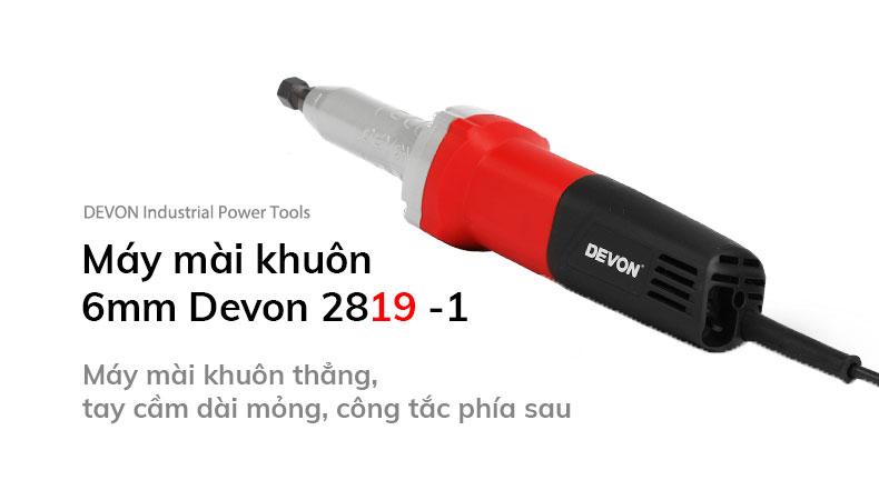 Máy mài khuôn 6mm Devon 2819-1